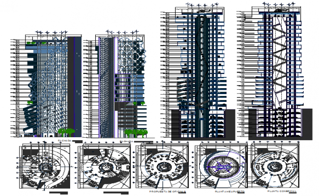 Mixed Multifunctional Building