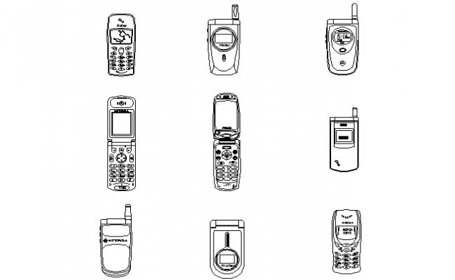 Mobile phones detailing