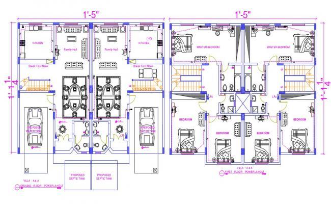Modern Bungalow House Plan