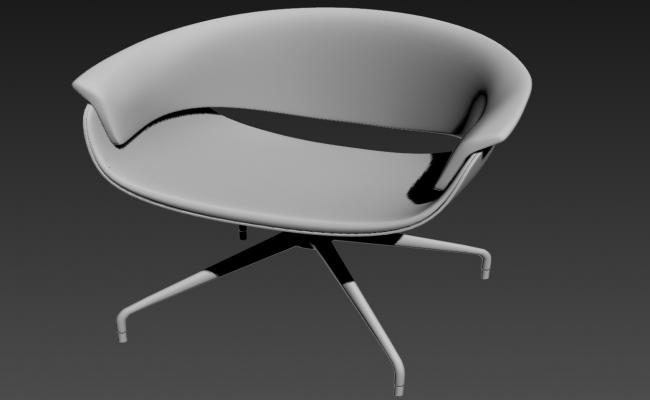 Modern Chair 3D MAX file Free