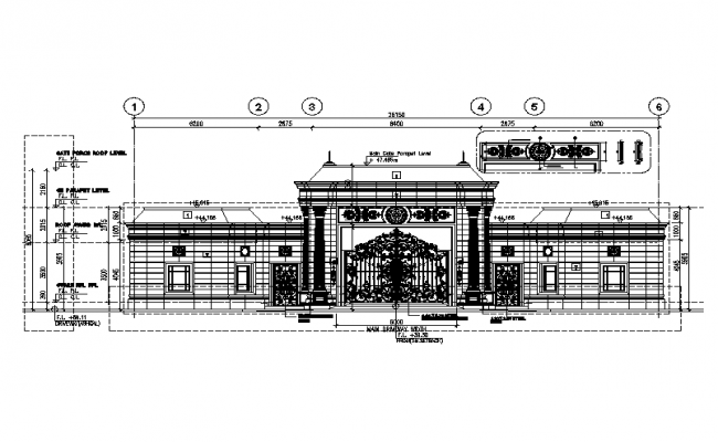 Modern Concept  Gate Design