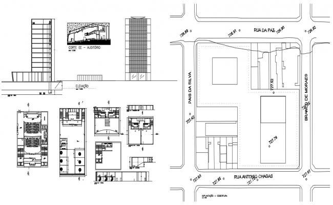Modern Design Commercial Building