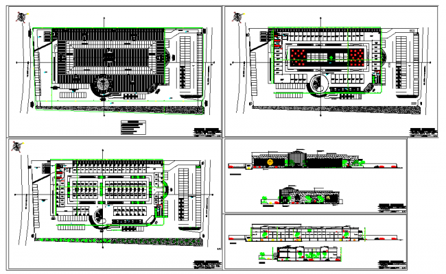 Modern Design For Shopping Centre Detail.