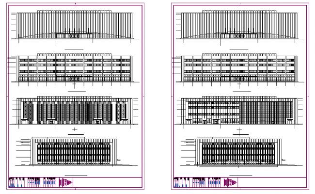 Modern Elevation High rise building design