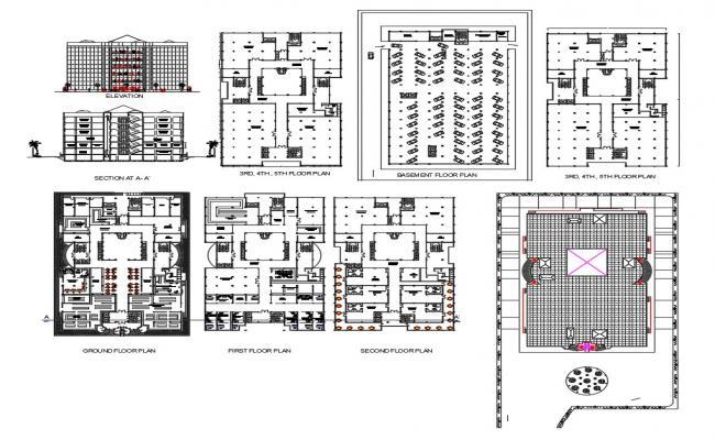 Modern Office Building Design Download