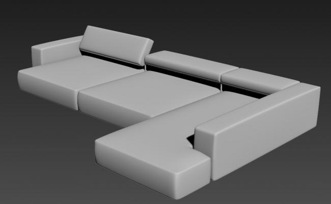 Modern Sofa Designs For Living Room 3D MAX File Download