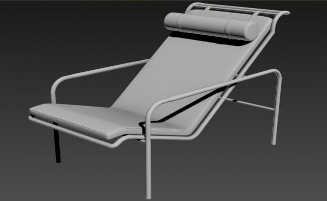 Modern Style Rest Couch In 3D MAX File Free