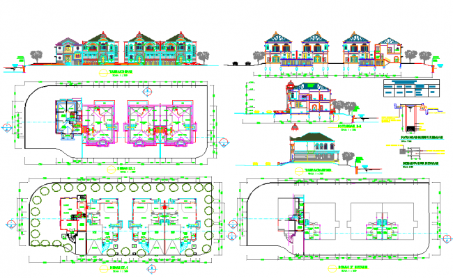 Modern Villa Architecture Design