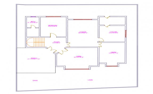 Modern Villa Plan