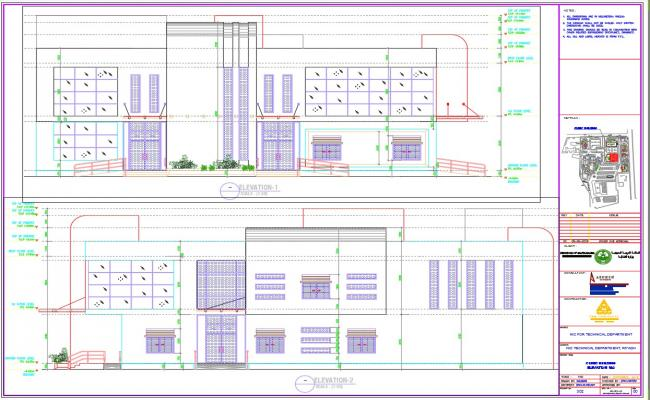 Modern house elevations and design in autocad dwg files for House cad file