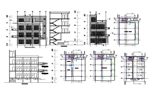 Modern office building design