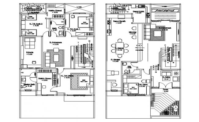 Multi Family Home Plan
