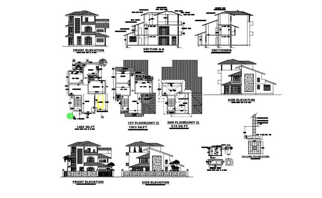 Multi Family Home Plans