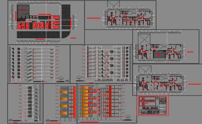 Multi family 10 storeys