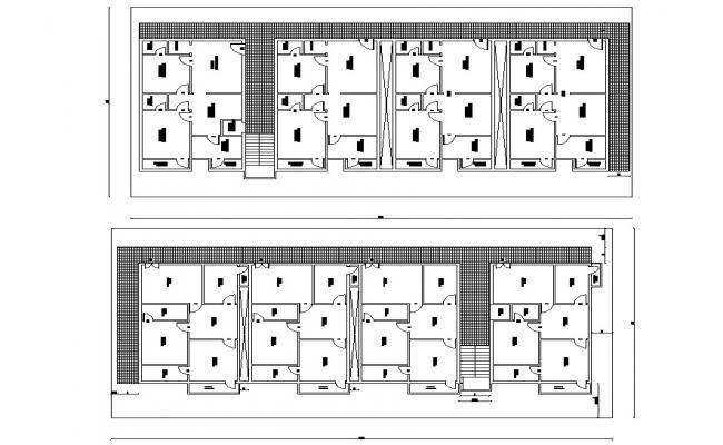 Multi-family home CAD design