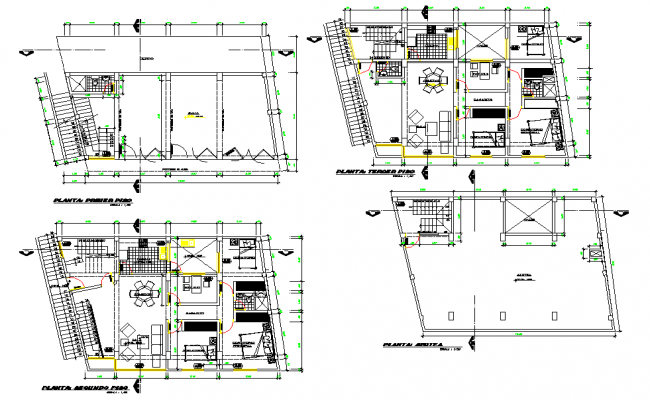 Multi family housing layout file