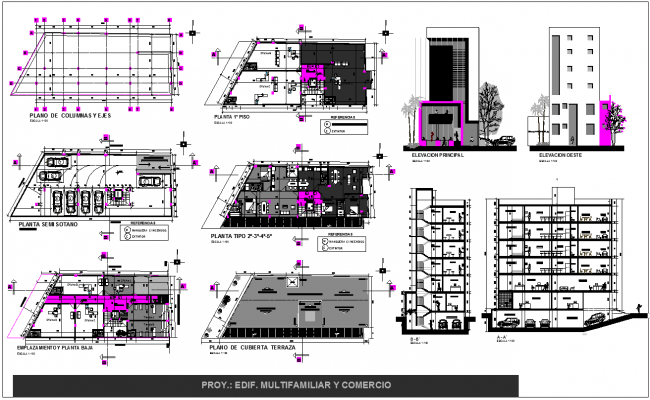 Multifamily Building and Trade plan