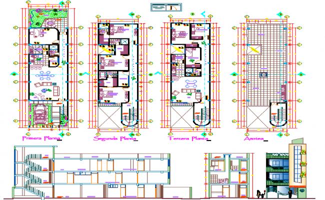 Multifamily Housing Plan