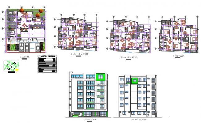 Multiple family housing