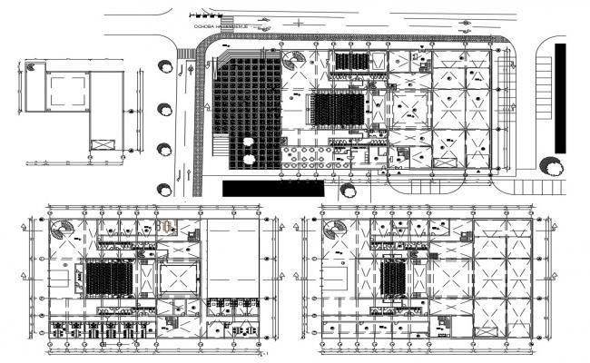 Multiplex Cinema Floor Plan