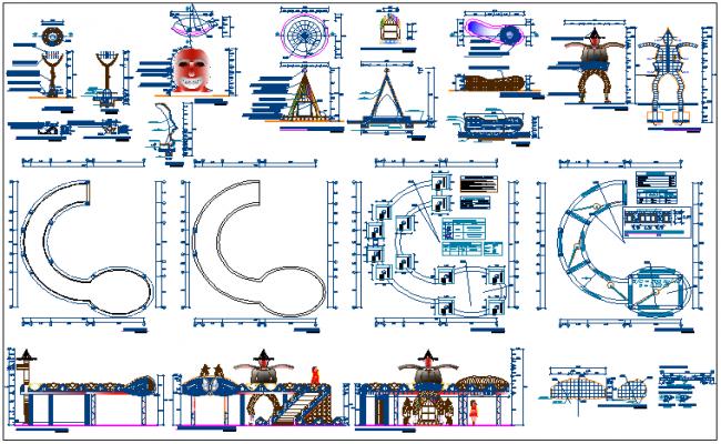 Municipal public garden architecture project details