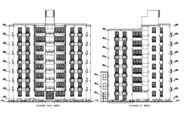 Municipality building drawing