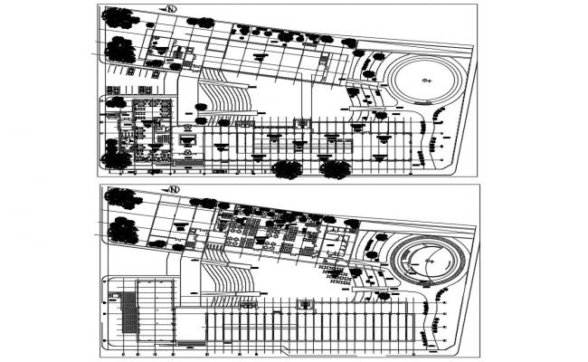 Museum Exhibit Design CAD Plan