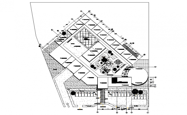 Nursery plan detail dwg file
