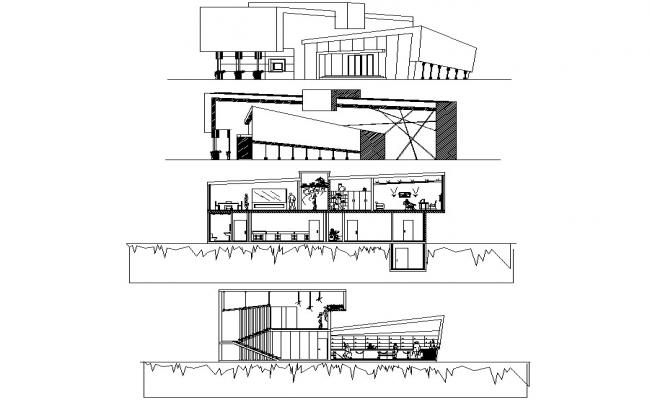 Office Building CAD Drawing