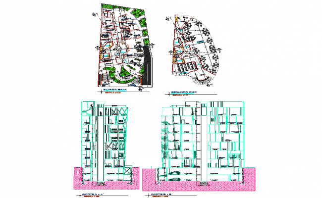 Office Building Layout plan