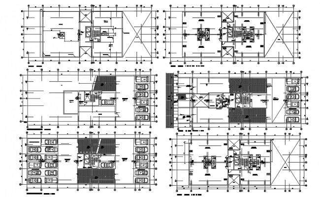 Office Building dwg file