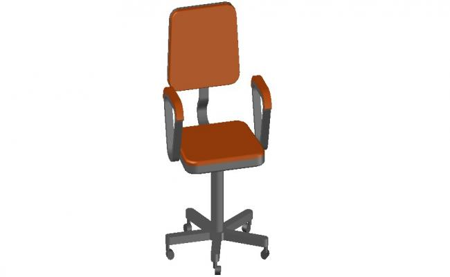Office Chair Design 3d model Furniture CAD block