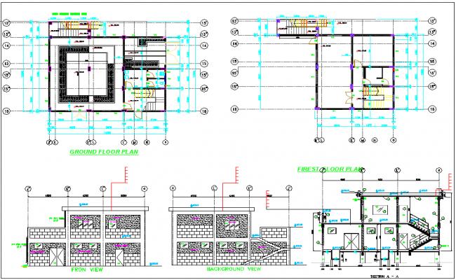 Office Construction plan