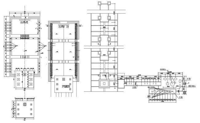 Office False Ceiling Design Free CAD Drawing