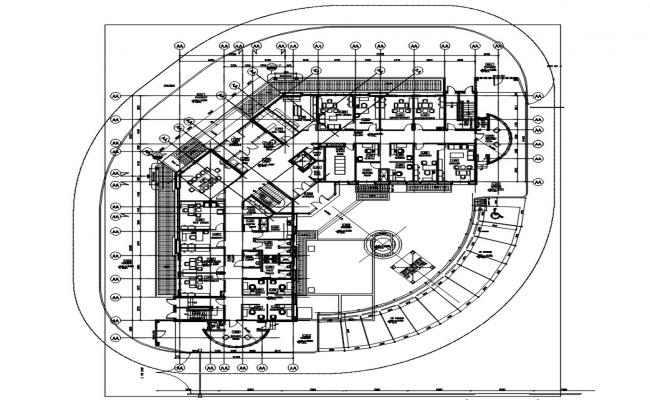 Office Floor With Furniture Plan