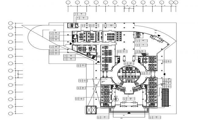 Office Furniture Floor Layout Plan