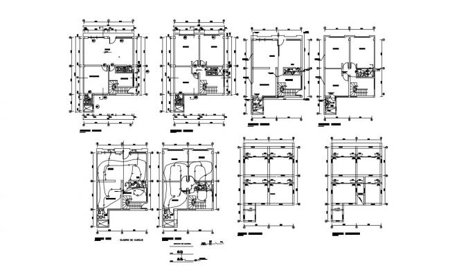 Office Interior Design AutoCAD File