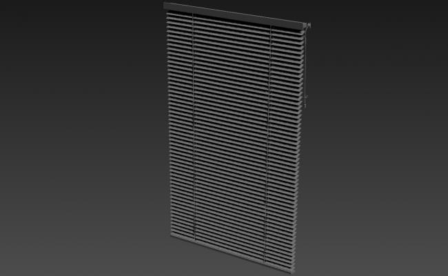 Office Window Curtain Design 3d Max File