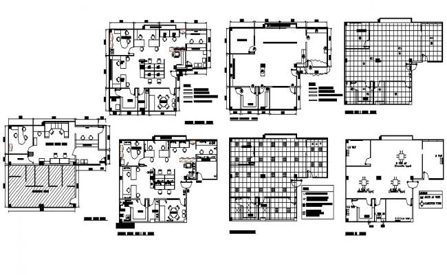 Workplace Building In DWG File