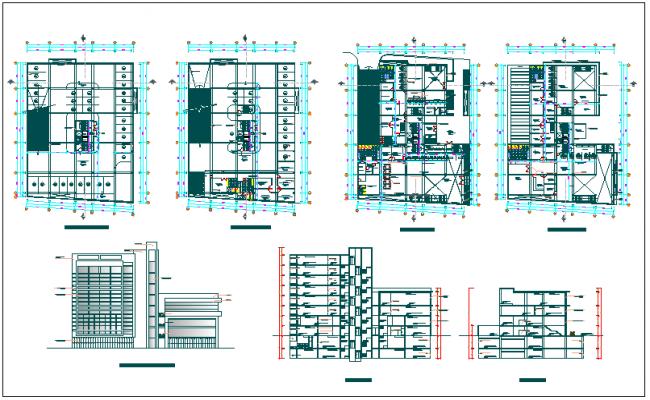 office building floor plan.  Office Building Floor Plan Detail View Dwg File
