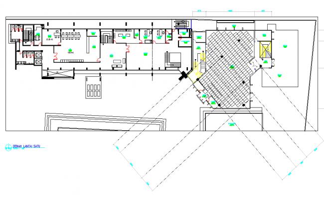 Office detail dwg file