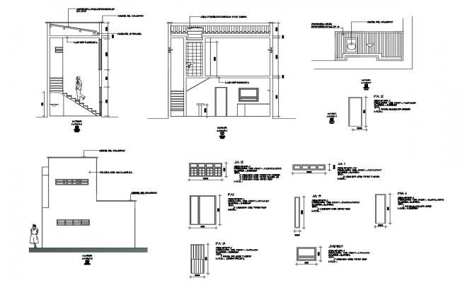 Office layout in AutoCAD