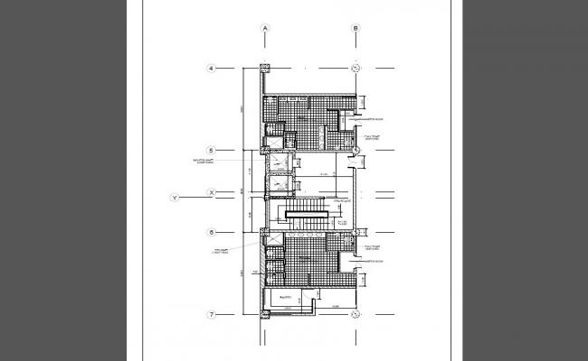 Office plan and sanitary installation cad drawing details dwg file