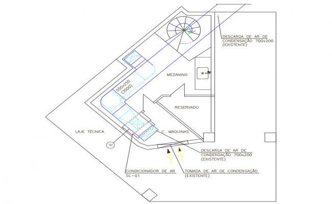 Office Pantry Plan Free Download DWG File