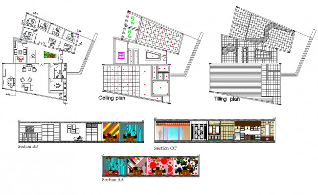 Offices and 4 Administrative Areas