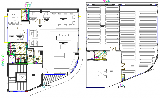 One family house architecture project dwg file