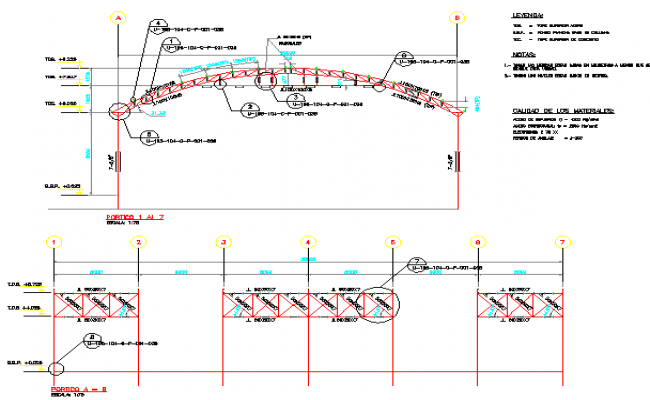 One family house roof construction details dwg file