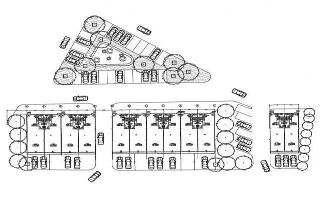 Parking Design CAD Plan Download