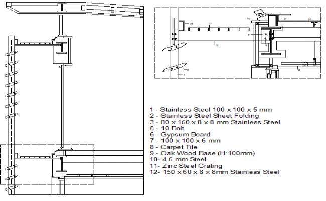Pat steel system details dwg file