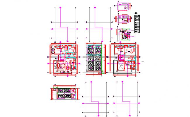 Penthouse furniture layout